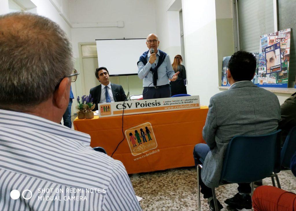 Progetto di fusione del CSV Poiesis Brindisi con il CSV Salento